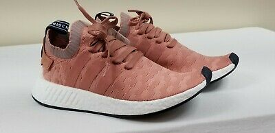 0bf5cfd41 NEW Adidas NMD R2 PK W Raw Pink Heather BY8782 Womens NMD Primeknit SIZE 9.5