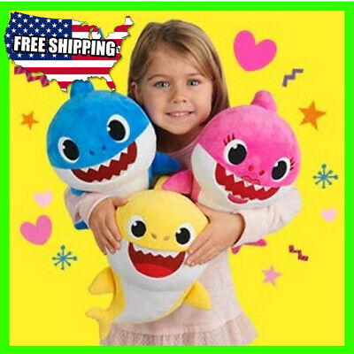 Baby Shark Plush Singing Plush Toys Music Doll English Song toy gift for kids