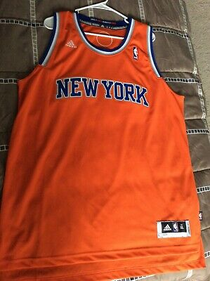 brand new 3dcf6 92ef1 NBA NEW YORK Knicks Authentic Alternate Swingman Jersey Mens Size XL