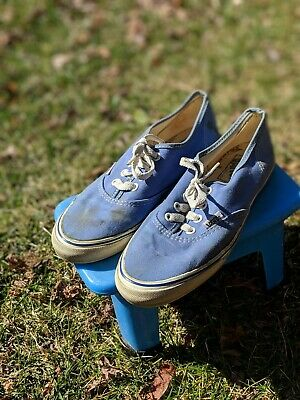 8f91fb0f53 VINTAGE VANS 70 s 80 S skater tennis shoes size 7 made in the USA Van Doren