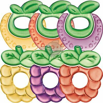 Bright Starts Chill & Teethe Teether Water Filled Baby Rings BPA Free