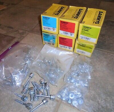 LOT of SAMMY's Rod Hangers Various boxes, bags