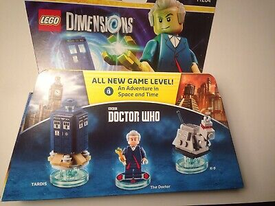 Lego Dimensions BBC Dr Who Level Pack 71204 The Doctor K-9 Tardis