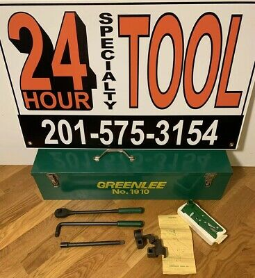 Greenlee Model 796 Cable Bender With Greenlee 1905 Cable Stripper 1910 Box