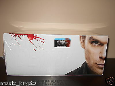 Dexter: The Complete Series - Gift Set (Blu-ray Disc, 2013, 25-Disc Set) *NEW*
