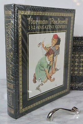 NORMAN ROCKWELL 332 MAGAZINE COVERS  Easton Press -  LARGE BOOK - SCARCE -SEALED