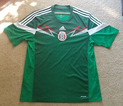 38f39f44363 Men s Adidas ClimaCool Mexico Home Training Soccer Jersey Size XL Green  G86985