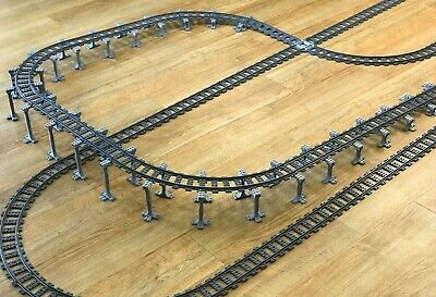 Lego Compatible Train Set Supports, Quick and Easy Build Bridges and Inclines
