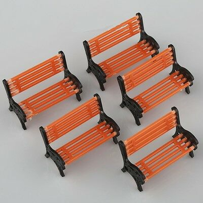 Magnificent Parts Accessories 5Pcs Cute 1 100 Ho Scale Park Garden Caraccident5 Cool Chair Designs And Ideas Caraccident5Info