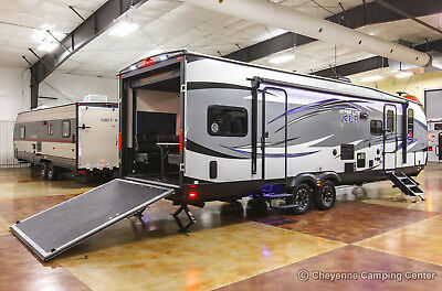 New 2019 Hyper Lite 29HFS Extended Season Toy Hauler For Sale with Slide Out