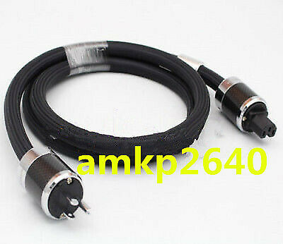 for FURUTECH PS-950-18 carbon fiber plug Alpha-OCC Power Cable 1.5M 1.8m 2m #am3