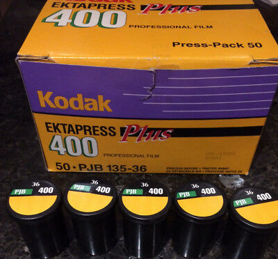 5  Rolls Kodak Ektapress Plus PJB135-36 C-41 Color Film NEW - Expired 05/1998
