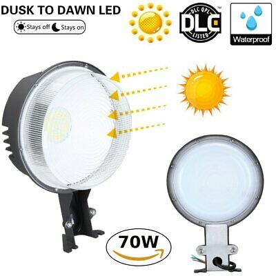 70W Dusk To Dawn Led Barn Light Dlc Farm Garage Outdoor Security Wall Pack Be