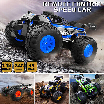 Remote Control RC Car RC TRUCK Off Road Monster Truck Powerful Climbers For Kids
