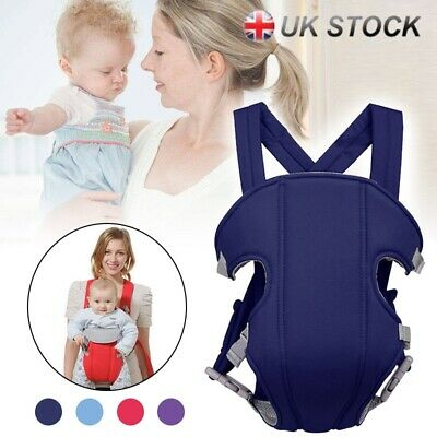 Adjustable Infant Baby Carrier Wrap Sling Newborn Backpack Breathable Tool