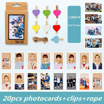 20pcs Stray Kids Clé 1 : MIROH Polaroid Lomo Photo Card HD Collective Photocards
