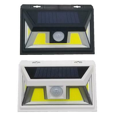 2000LM 80 COB LED Solar Wall Light Outdoor Garden Security Lamp Motion Sensor TR