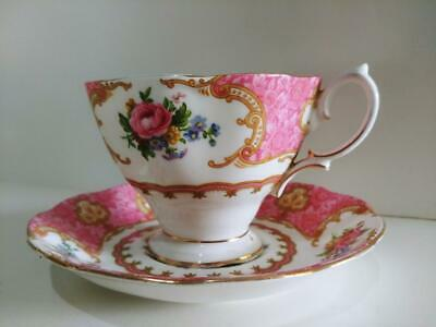 Royal Albert Duo * Lady Carlyle Tea Cup and Saucer * English Bone china vintage