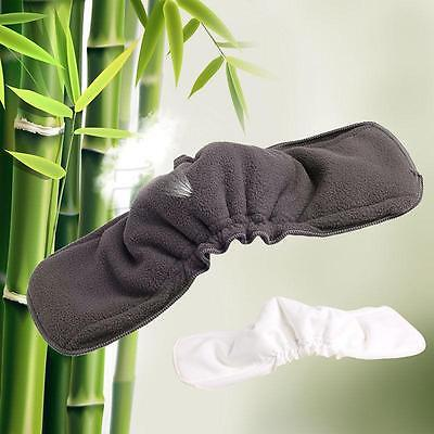 5-Layer Inserts Reusable Bamboo Charcoal Liners for Baby Modern Cloth Nappy LI