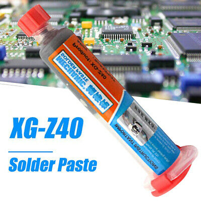 XG-Z40 10ml Syringe Tube Solder Paste Flux Sn63/Pb37 25-45um Paste Tin Cream