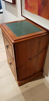 ****Solid timber 2 Drawer Filing Cabinet...a piece of furniture*****