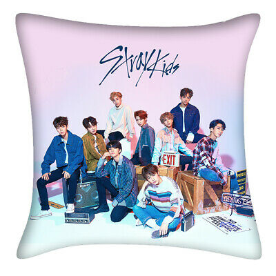 Stray Kids 《Clé 1 : MIROH》 Double Photo Sided Hold Pillow Bolster Sofa Cushion