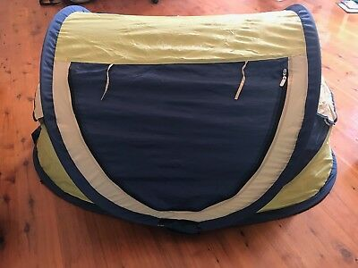 Portable KinderKot dome cot - great condition