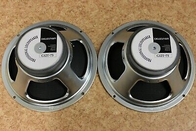 Celestion G12T-75 2006 from Marshall 1936 cabinet 16 ohms