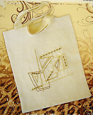 Abstract Pattern Bag – Semco easy embroidery kit