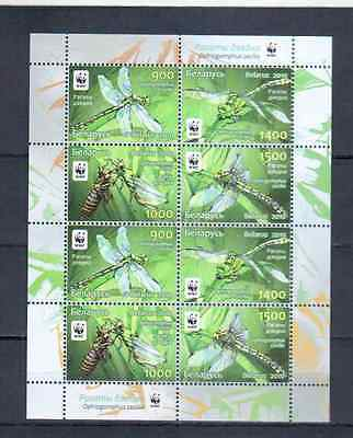 Belarus Bloc Insecttes Wwf    Mnh