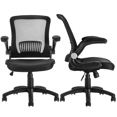 Mesh Fabric Office Chair Adjustable Executive Swivel Task Computer Desk Decor PP
