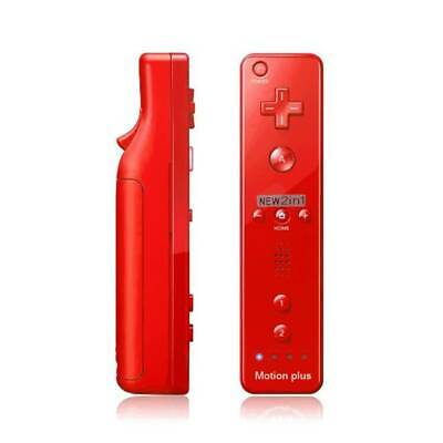 2 in 1 Built in Motion Plus Inside Remote Controller For Nintendo Wii