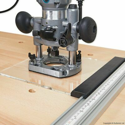 Router Plate for Clamp Grip Guide