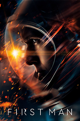 First Man (2018,dvd,release) One Giant Step For Mankind...free Shipping...