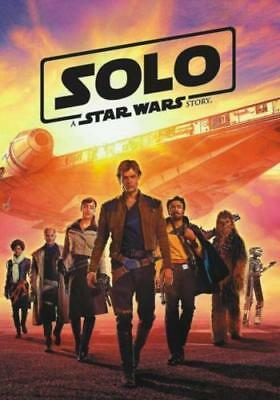 Solo:star Wars (New,2018,dvd,release) Super,action,hero's!!!! Free Shipping...
