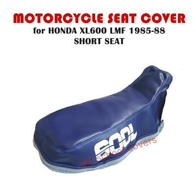 Honda Xl600Lmf Xl600 1985 - 1988 Short Seat Cover With Textured Top & 600L Logos