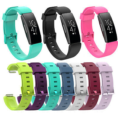 Fashion Replace Silicone Sports Watch Band Strap Bracelet For Fitbit Inspire HR
