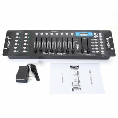 192 CH DMX512 4Mode Controller Console For Stage Light Party Operator Equipment