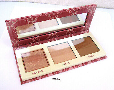 Benefit Cheekleaders Mini Bronze Squad Palette - Gold Rush/Cookie/Hoola BNIB