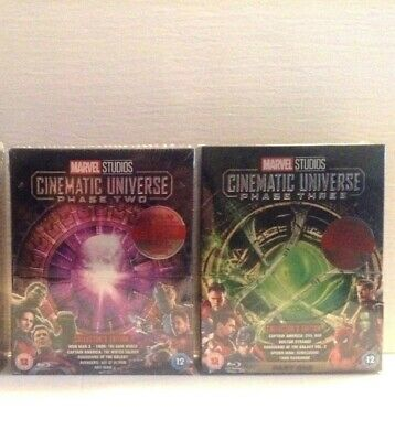 Marvel Studios Collector's Edition Box Set - Phase 2 & 3 (Blu-ray) *NEW*
