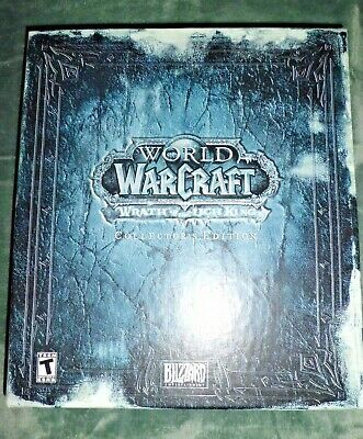 World Of Warcraft WOW Collector's Edition The Lich King Missing Game&Frosty Pet