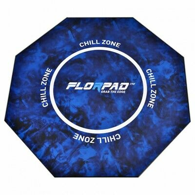 FlorPad Chill Zone Gamer-/eSports Protective Floor Mat - Blue Soft Core