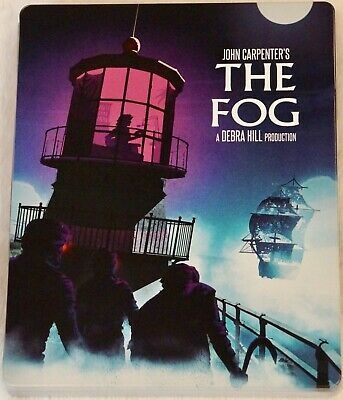 THE FOG SCREAM FACTORY STEELBOOK - Limited Edition Blu-Ray John Carpenter SHOUT