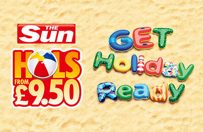 Sun Holidays From £9.50 Booking Codes All 7 Token Code words saver online code