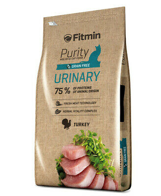 10kg Fitmin Cat Purity Urinary getreidefreies Katzenfutter