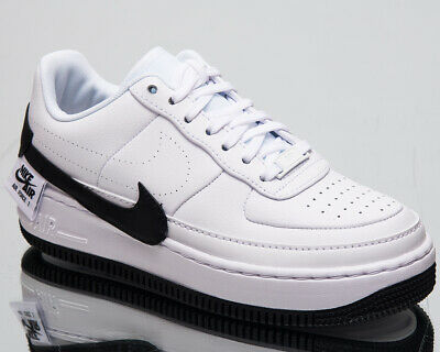 NIKE AIR FORCE 1 Jester XX Women's New White Black Lifestyle Sneakers AO1220 102