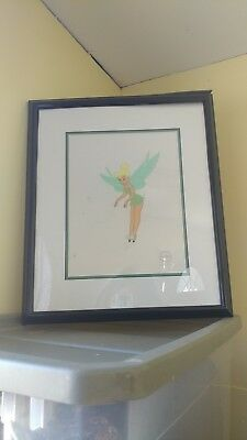 """Disney """"Playful Pixie"""" Tinker Bell Tinkerbell S/O LE Sericel Peter Pan Fairy"""