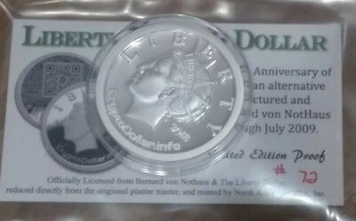 2018 Liberty CryptoDollar (075/300) Individually Numbered PROOF ROUND