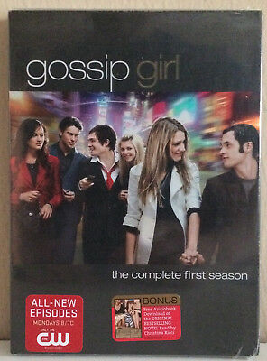 Gossip Girl DVD Complete Season 1 NEW SEALED