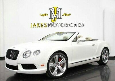 2015 Bentley Continental GT GTC V8 ($229,090 MSRP) 2015 BENTLEY CONTINENTAL GTC V8~ $229,090 MSRP~GLACIER WHITE ON LINEN~ 14K MILES